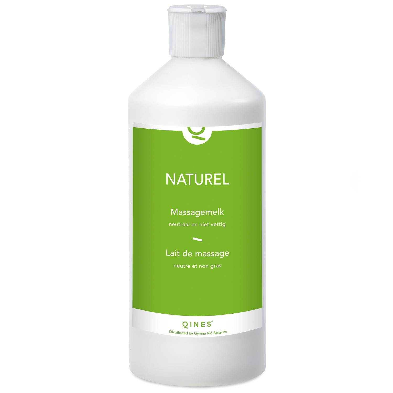 Naturel massagemelk Qines - 500 ml
